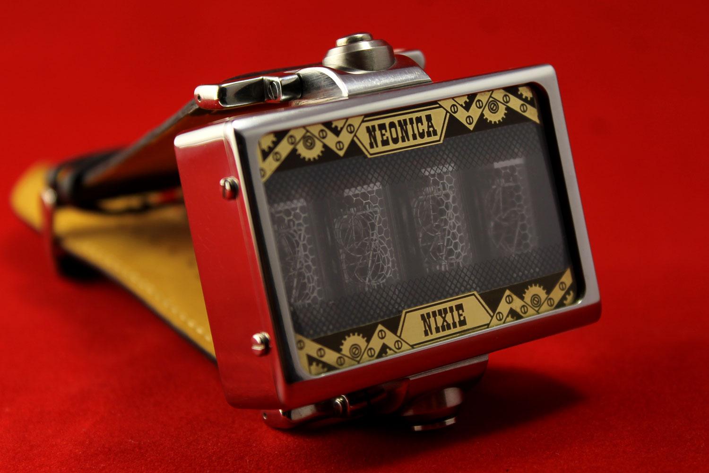 Наручные часы цифровая индикаторная трубка лампы zm.